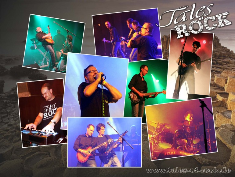 TALES OF ROCK Live-Collage